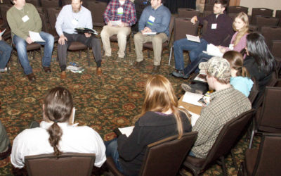 Host a conference roundtable conversation
